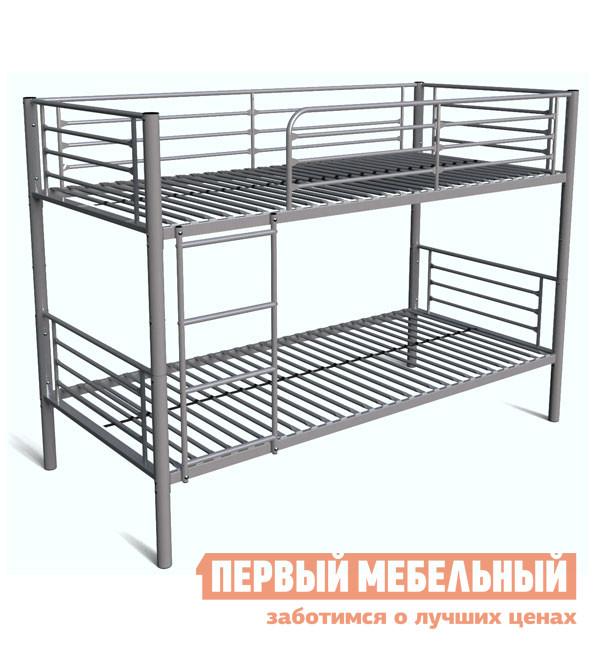 Металлическая кровать МТМ КМ 24 Серый