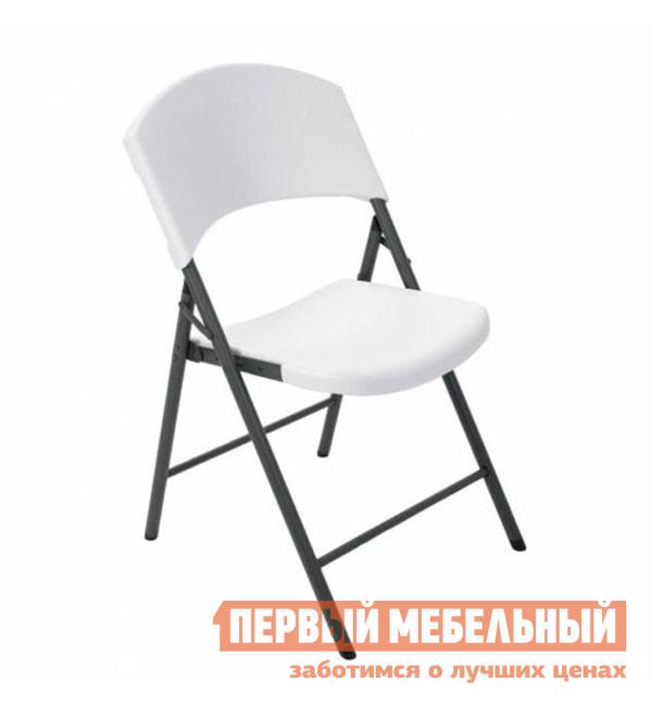 Садовое кресло Lifetime СС4409 / СС2810 БелыйСадовые стулья и кресла<br>Габаритные размеры ВхШхГ 838x493x572 мм. Пластиковый складной стул Аконит СС4409 / СС2810 выручит во многих ситуациях: когда вы решили собраться с застольем на природе, к вам неожиданно пришли гости или необходимо организовать большое мероприятие. Спинка и сиденье имеют эргономичные изгибы.  Они выполнены из полиэтилена высокой плотности (HDPE), который имеет повышенную устойчивость к различного рода химическим, тепловым и механическим повреждениям. Каркас стальной, состоит из круглых трубок с диаметром 25 мм и толщиной металла 1 мм.  Благодаря ему стул очень прочный и при этом весит не много — всего 5 кг без упаковки.<br><br>Цвет: Белый<br>Высота мм: 838<br>Ширина мм: 493<br>Глубина мм: 572<br>Форма поставки: В разобранном виде<br>Срок гарантии: 1 год<br>Тип: Складные<br>Тип: Трансформер<br>Материал: Металл<br>Материал: Пластик<br>С жестким сиденьем: Да<br>Без подлокотников: Да