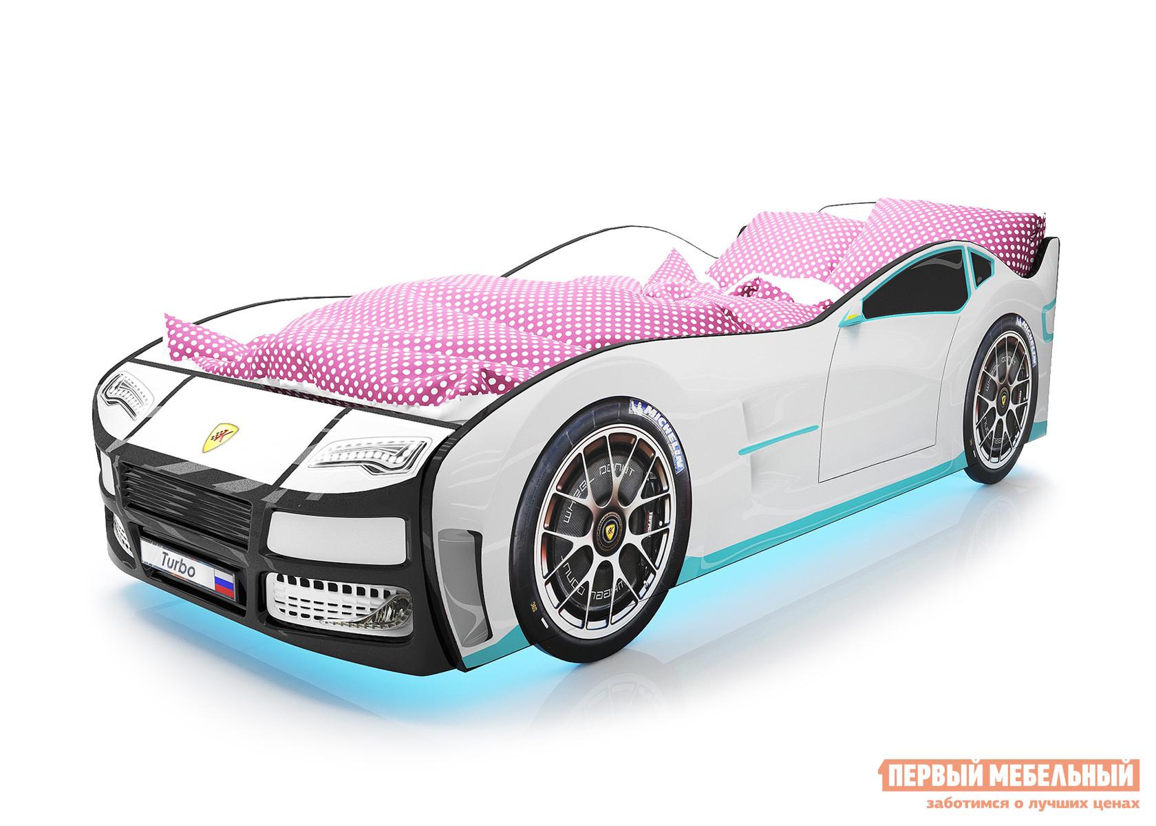Кровать-машина Киндер Турбо кровать машина стиль юниор турбо универсальная 80х190