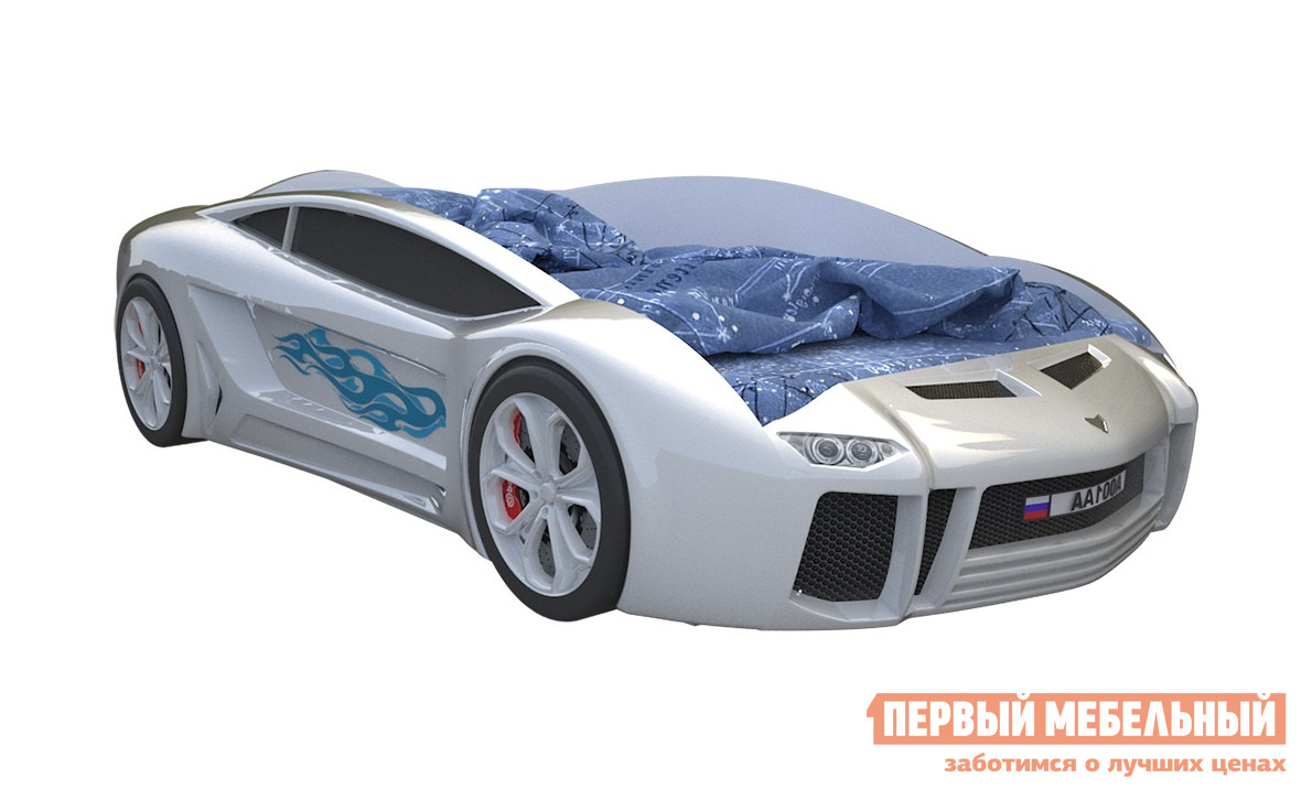 Кровать-машина с подъемным механизмом Киндер Ламба Next с ПМ кровать машина киндер ламба next