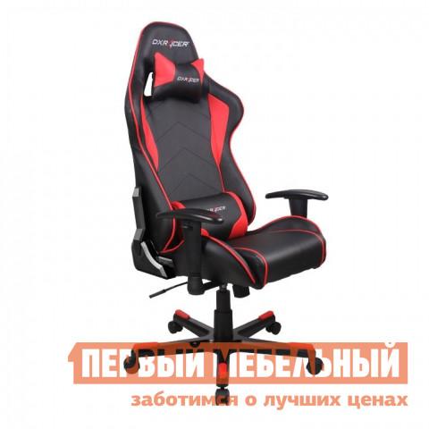 Компьютерное кресло DxRacer OH/FE08 Черный / Красный DxRacer Габаритные размеры ВхШхГ 1270 / 1346x686x530 мм. Кресла DXRacer OH/FE08 серии Formula предназначены для киберспортсменов, участвующих в виртуальных гонках.  <br>Если вы фанат спортивных авто и непревзойденного комфорта, то это кресло идеально подойдет для вас.  Эргономичная форма была создана специально для профессиональных геймеров, проводящих много часов подряд за игрой не меняя положения.  Кресло подойдет также и для любого человека, который ценит удобство при работе за компьютером. <br>DXRacer OH/FE08 имеет высокую боковую поддержку, анатомически правильные изгибы и множество регулировок, которые обеспечат стопроцентный комфорт.  Данная модель отлично подойдет людям среднего роста, в том числе девушкам и подросткам. <br><br>Подлокотники регулируются по высоте;<br>Высота сиденья регулируется от 370 до 450 мм;<br>Механизм качания Топ-Ган;<br>Наклон сиденья слитно со спинкой в пределах 12 градусов;<br>Газлифт-механизм высокого качества;<br>Спинка отклоняется в пределах 170 градусов;<br>В комплекте подушки под голову и поясницу;<br>Крестовина: алюминий;<br>Обивка: полиуретановая искусственная кожа;<br>Наполнение: пена высокой плотности;<br>Прорезиненные ролики со стопперами. <br>Рекомендуемый рост сидящего: 170-180 см. <br>Максимальная нагрузка: 120 кг. <br><br>