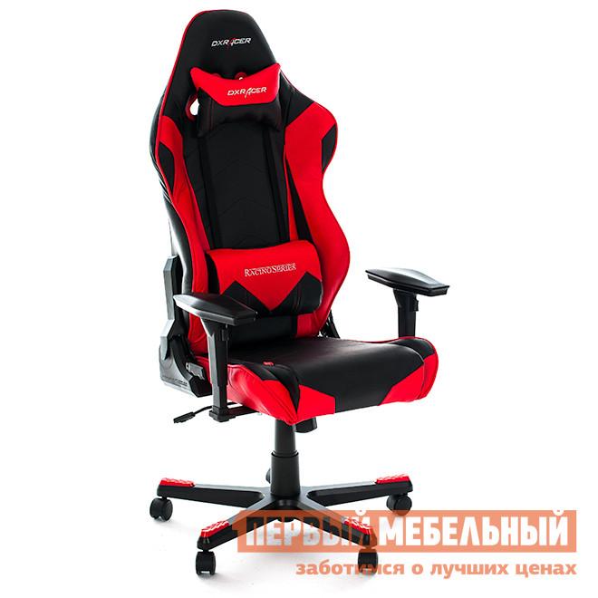Компьютерное кресло DxRacer OH/RE0 Черный / КрасныйИгровые кресла<br>Габаритные размеры ВхШхГ 1350 / 1270x690x533 мм. Кресла серии Racing созданы с учетом пожеланий и потребностей людей, которые много времени проводят за компьютером.  Благодаря широкой спинке, кресла подходят даже для широкоплечих и высоких людей. Яркое кресло для геймеров в стиле сидений для гоночных автомобилей.  Его форма специальным образом подобрана для максимального комфорта даже при беспрерывном многочасовом использовании в одном положении.  Профессиональное игровое кресло как нельзя лучше подходит и для длительной и продуктивной работы за компьютером.  Подобрать удобную позу поможет множество регулировок, а стопроцентную поддержку обеспечит анатомическая форма спинки и сиденья.  Кресло подойдет не только для киберспортсменов, но и для всех тех, кто много и неотрывно работает за компьютером. Подлокотники с 4D-регулировкой (вверх-вниз, вправо-влево, вперед-назад, поворот на 90 градусов);Высота сиденья регулируется от 370 до 450 мм;Механизм качания Топ-Ган;Наклон сиденья слитно со спинкой в пределах 3-17 градусов;Газлифт-механизм высокого качества;Спинка отклоняется в пределах 170 градусов (блокировка в нескольких положениях);Крестовина и основание: алюминий;Обивка: полиуретановая искусственная кожа;Наполнение: пена высокой плотности (50 кг/м?);Прорезиненные ролики со стопперами. Рекомендуемый рост сидящего: 170-190 см. Максимальная нагрузка: 150 кг.<br><br>Цвет: Черный<br>Цвет: Красный<br>Высота мм: 1350 / 1270<br>Ширина мм: 690<br>Глубина мм: 533<br>Кол-во упаковок: 1<br>Форма поставки: В разобранном виде<br>Срок гарантии: 2 года<br>Тип: До 80 кг<br>Тип: До 100 кг<br>Тип: До 120 кг<br>Тип: До 150 кг<br>Тип: До 90 кг<br>Тип: До 135 кг<br>Тип: До 130 кг<br>Тип: Регулируемые по высоте<br>Материал: Искусственная кожа<br>Эргономичные: Да<br>С подлокотниками: Да<br>С мягким сиденьем: Да<br>С подголовником: Да<br>Металлическая крестовина: Да<br>С регулируемой спинкой: Да<br>С регулируемыми подлокотн