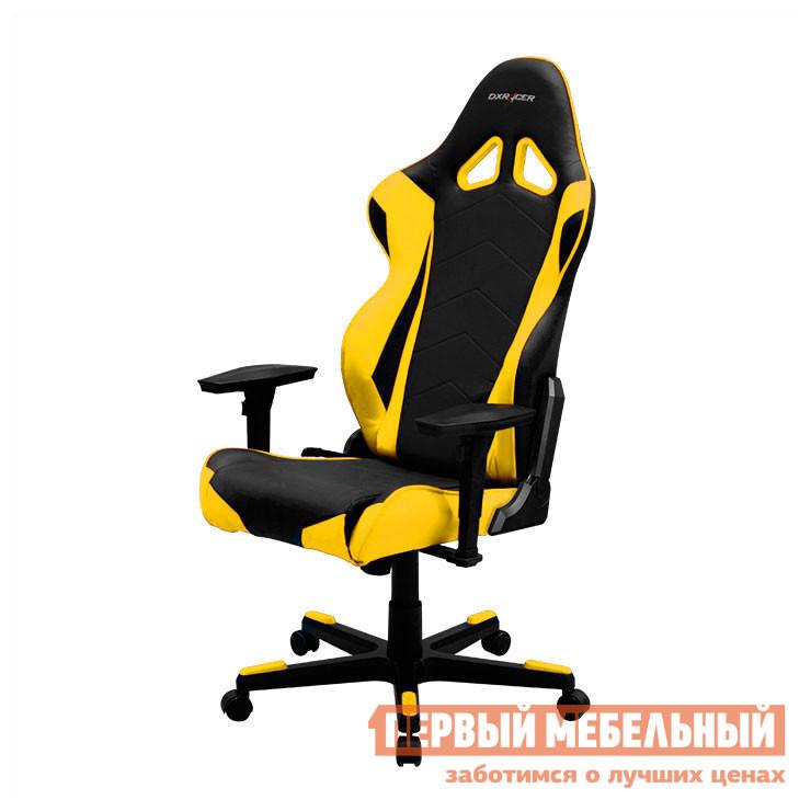 Компьютерное кресло DxRacer OH/RE0 Черный / Желтый DxRacer Габаритные размеры ВхШхГ 1350 / 1270x690x533 мм. Кресла DXRacer OH/RE0/NB серии Racing созданы с учетом пожеланий и потребностей людей, которые много времени проводят за компьютером.  Благодаря широкой спинке, кресла подходят даже для широкоплечих и высоких людей. <br>Яркое кресло для геймеров в стиле сидений для гоночных автомобилей.  Его форма специальным образом подобрана для максимального комфорта даже при беспрерывном многочасовом использовании в одном положении.  Профессиональное игровое кресло как нельзя лучше подходит и для длительной и продуктивной работы за компьютером. <br> Подобрать удобную позу поможет множество регулировок, а стопроцентную поддержку обеспечит анатомическая форма спинки и сиденья.  DXRacer OH/RE0/NB подойдет не только для киберспортсменов, но и для всех тех, кто много и неотрывно работает за компьютером. <br><br>Подлокотники с 4D-регулировкой (вверх-вниз, вправо-влево, вперед-назад, поворот на 90 градусов);<br>Высота сиденья регулируется от 370 до 450 мм;<br>Механизм качания Топ-Ган;<br>Наклон сиденья слитно со спинкой в пределах 3-17 градусов;<br>Газлифт-механизм высокого качества;<br>Спинка отклоняется в пределах 170 градусов (блокировка в нескольких положениях);<br>Крестовина и основание: алюминий;<br>Обивка: полиуретановая искусственная кожа;<br>Наполнение: пена высокой плотности (50 кг/м