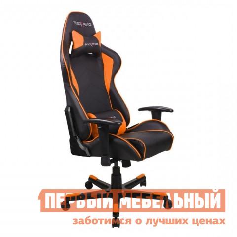 Компьютерное кресло DxRacer OH/FE08 Черный / Оранжевый DxRacer Габаритные размеры ВхШхГ 1270 / 1346x686x530 мм. Кресла DXRacer OH/FE08 серии Formula предназначены для киберспортсменов, участвующих в виртуальных гонках.  <br>Если вы фанат спортивных авто и непревзойденного комфорта, то это кресло идеально подойдет для вас.  Эргономичная форма была создана специально для профессиональных геймеров, проводящих много часов подряд за игрой не меняя положения.  Кресло подойдет также и для любого человека, который ценит удобство при работе за компьютером. <br>DXRacer OH/FE08 имеет высокую боковую поддержку, анатомически правильные изгибы и множество регулировок, которые обеспечат стопроцентный комфорт.  Данная модель отлично подойдет людям среднего роста, в том числе девушкам и подросткам. <br><br>Подлокотники регулируются по высоте;<br>Высота сиденья регулируется от 370 до 450 мм;<br>Механизм качания Топ-Ган;<br>Наклон сиденья слитно со спинкой в пределах 12 градусов;<br>Газлифт-механизм высокого качества;<br>Спинка отклоняется в пределах 170 градусов;<br>В комплекте подушки под голову и поясницу;<br>Крестовина: алюминий;<br>Обивка: полиуретановая искусственная кожа;<br>Наполнение: пена высокой плотности;<br>Прорезиненные ролики со стопперами. <br>Рекомендуемый рост сидящего: 170-180 см. <br>Максимальная нагрузка: 120 кг. <br><br>