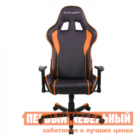 Игровое кресло  OH/FE08 Черный / Оранжевый