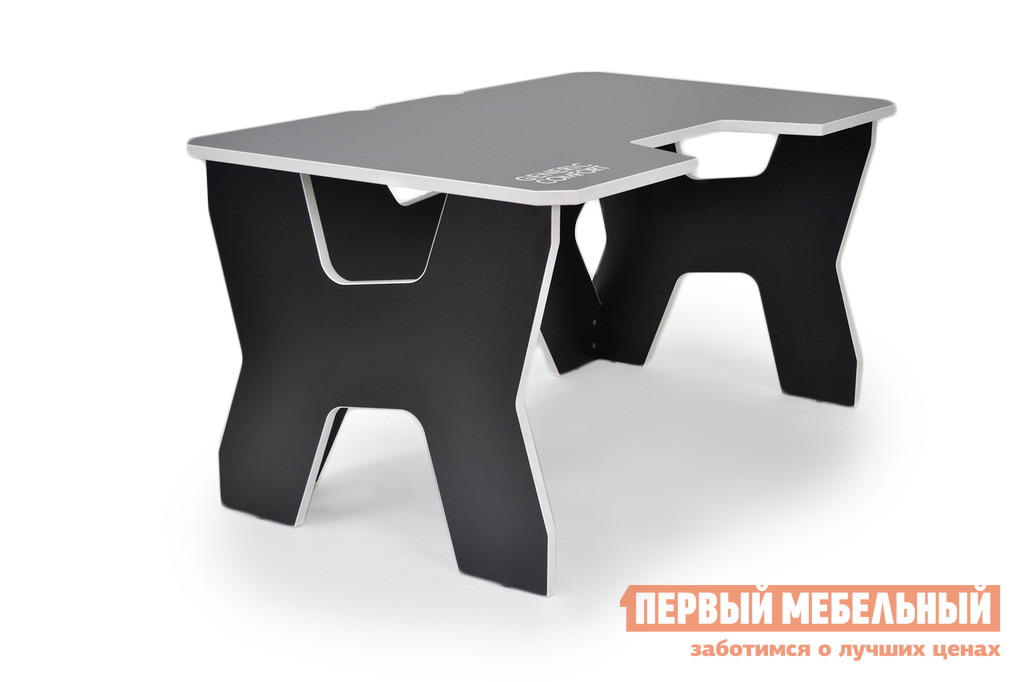 Компьютерный стол DxRacer Generic Comfort Gamer2/DS/N Черный / Белый