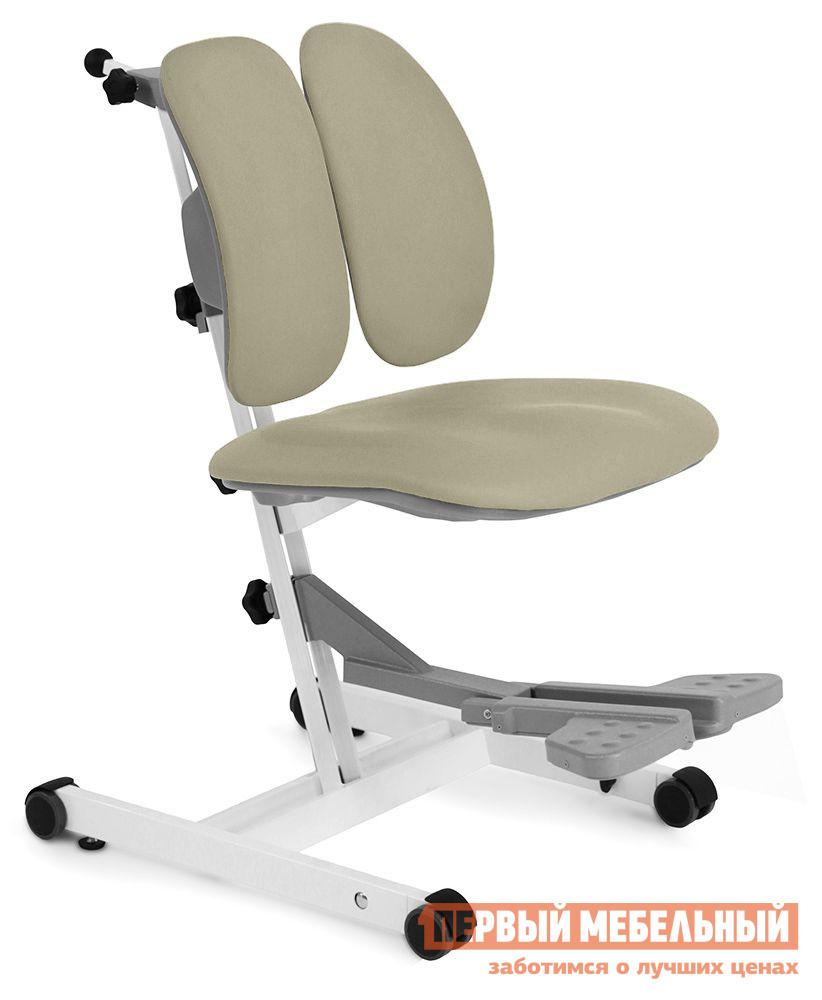 Компьютерное кресло Gravitonus UP! Footrest Бежевый Gravitonus Габаритные размеры ВхШхГ 680 / 1000x430x290 / 470 мм. Правильную и красивую осанку очень важно начать формировать еще в детстве, в этом вам поможет растущее детское кресло UP! Footrest. <br> Оно имеет несколько уровней регулировки сиденья и спинки, которые подстраиваются под индивидуальные особенности сидящего.  Это кресло будет расти вместе с вашим ребенком, поэтому вам не придется переживать о том, что вы не заменили кресло своевременно.  Данную модель сможете использовать и вы сами, потому как это кресло способно выдерживать нагрузку до 90 кг.  Его по праву можно назвать креслом для всей семьи. <br> Материал обивки — практичная экокожа, представленная широкой палитрой цветов, она не требует особого ухода и легко чистится. <br>Обратите внимание, что кресло поставляется в полусобранном виде, необходимо только закрепить спинку на каркасе. <br>