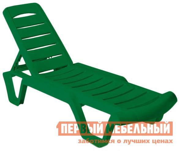 Шезлонг Отдых с комфортом Лежак Agua  Зеленый
