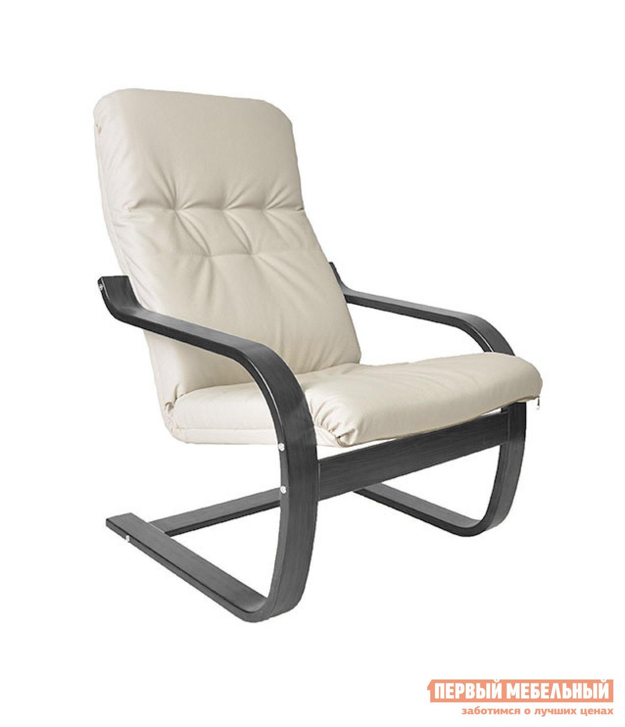 Кресло Грин Три Кресло Сайма Венге, Экокожа Крем от Купистол