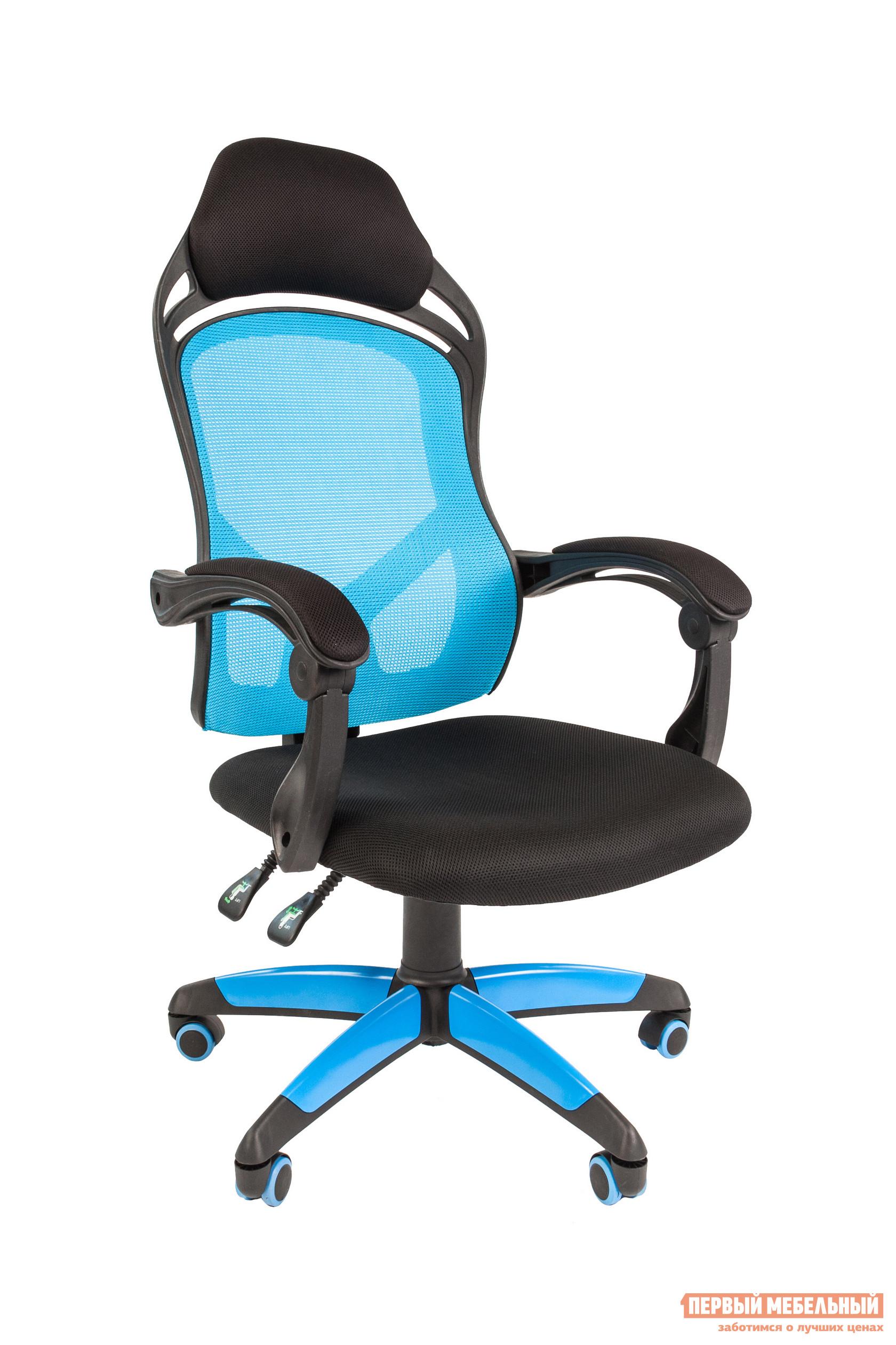 Компьютерное кресло Тайпит Chairman Game 12 компьютерное кресло chairman game 12 black blue 00 07016633