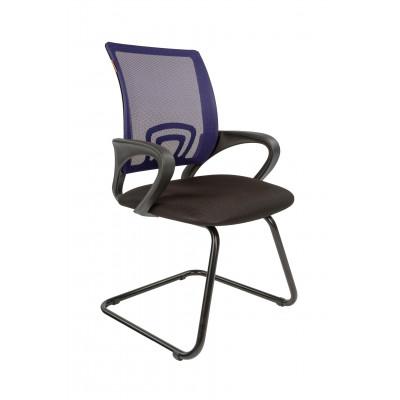 Офисный стул Chairman Chairman CH 696V Сетка TW-05 син. / Ткань TW-11 черн.