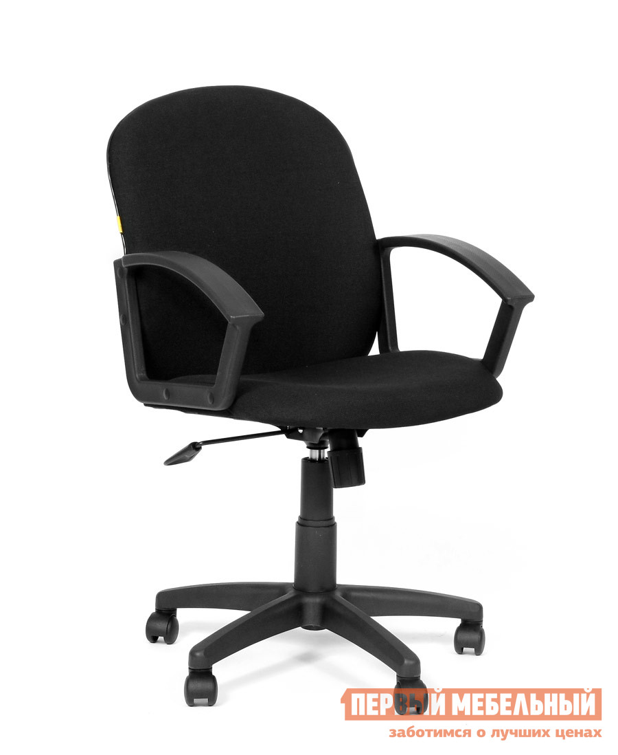 Офисное кресло Chairman CH 681 С-3 черныйОфисные кресла<br>Габаритные размеры ВхШхГ 930 / 1050x580x490 мм. Качественное и доступное по цене кресло, главное достоинство которого aуниверсальность.  CH 681 можно использовать и в качестве кресла для сотрудников, и как конференц-модель, и как посетительскую.  Спинка кресла удобна и эргономична - она повторяют естественные изгибы тела человека.  Изящное и компактное, это кресло не займет много места и обеспечит вам максимальный комфорт. Набивка кресла: Стандартный (standart) поролон плотности 25-40 кг/м3;Каркас: Не монолитный;Материал накладок подлокотников: Пластик;Механизм: Механизм качания с фиксацией кресла в рабочем положении;Крестовина: Черная пластиковая;Газпатрон: 3 категории по стандарту Germany DIN 4550;Ролик: Стандарта BIFMA 5,1 (США); диаметр штока 11 мм, материал - полиамид;Максимальная нагрузка: 100 кг;Вес брутто: 15 кг. Изделие поставляется в разобранном виде.  Хорошо упаковано в гофротару вместе с необходимой фурнитурой для сборки и подробной инструкцией.<br><br>Цвет: Черный<br>Высота мм: 930 / 1050<br>Ширина мм: 580<br>Глубина мм: 490<br>Кол-во упаковок: 1<br>Форма поставки: В разобранном виде<br>Срок гарантии: 12 месяцев<br>Тип: До 80 кг<br>Тип: До 100 кг<br>Тип: Со спинкой<br>Тип: Регулируемые по высоте<br>Назначение: Для дома<br>Назначение: Для оператора<br>Назначение: Для персонала<br>Материал: Ткань<br>С подлокотниками: Да<br>На колесиках: Да<br>С мягким сиденьем: Да<br>Пластиковая крестовина: Да<br>С высокой спинкой: Да<br>С откидной спинкой: Да