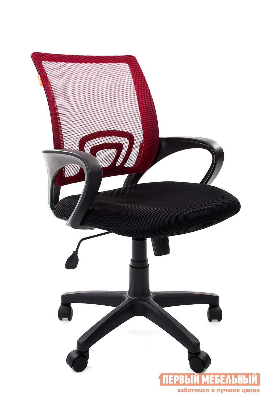 Офисное кресло Chairman CH 696 TW 06 красный / TW 11 черный