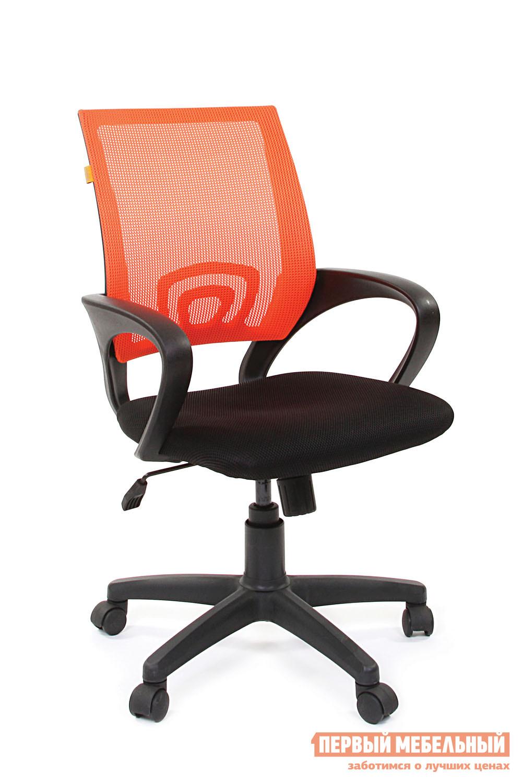 Офисное кресло Chairman CH 696 TW 11 черный / DW 66 оранжевый