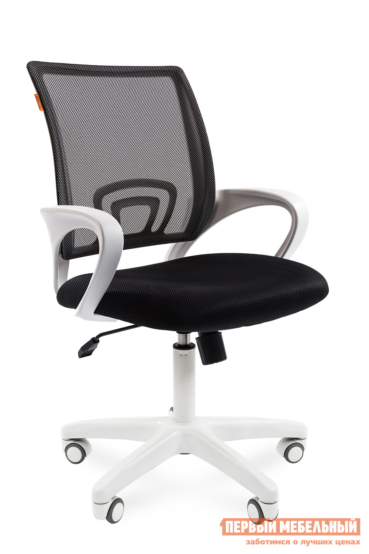 Офисное кресло Chairman CH 696 white TW-01 / TW-11 черн.