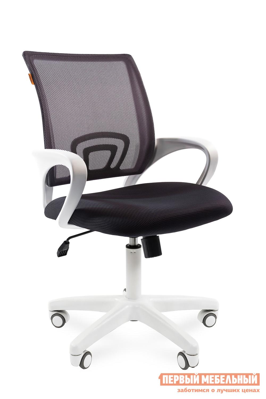 Кресло для офиса Chairman CH 696 white TW-04 / TW 12 серый от Купистол