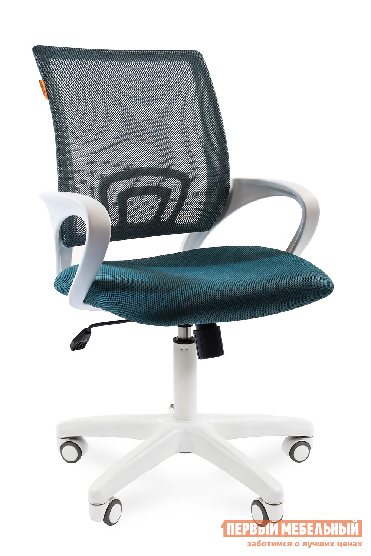 Офисное кресло Chairman CH 696 white TW-03 / TW 18 зеленый