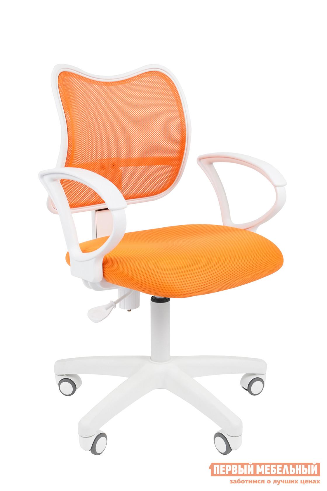 Кресло для офиса Chairman CHAIRMAN 450 Ткань TW-16 / Сетка TW-66 оранжевый от Купистол