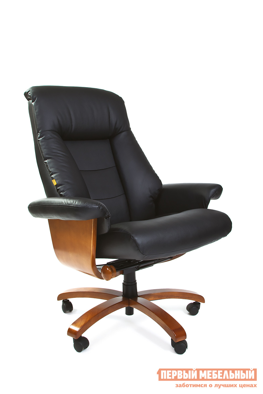 Кожаное кресло руководителя Тайпит CH 400 кресло руководителя тайпит ch 435