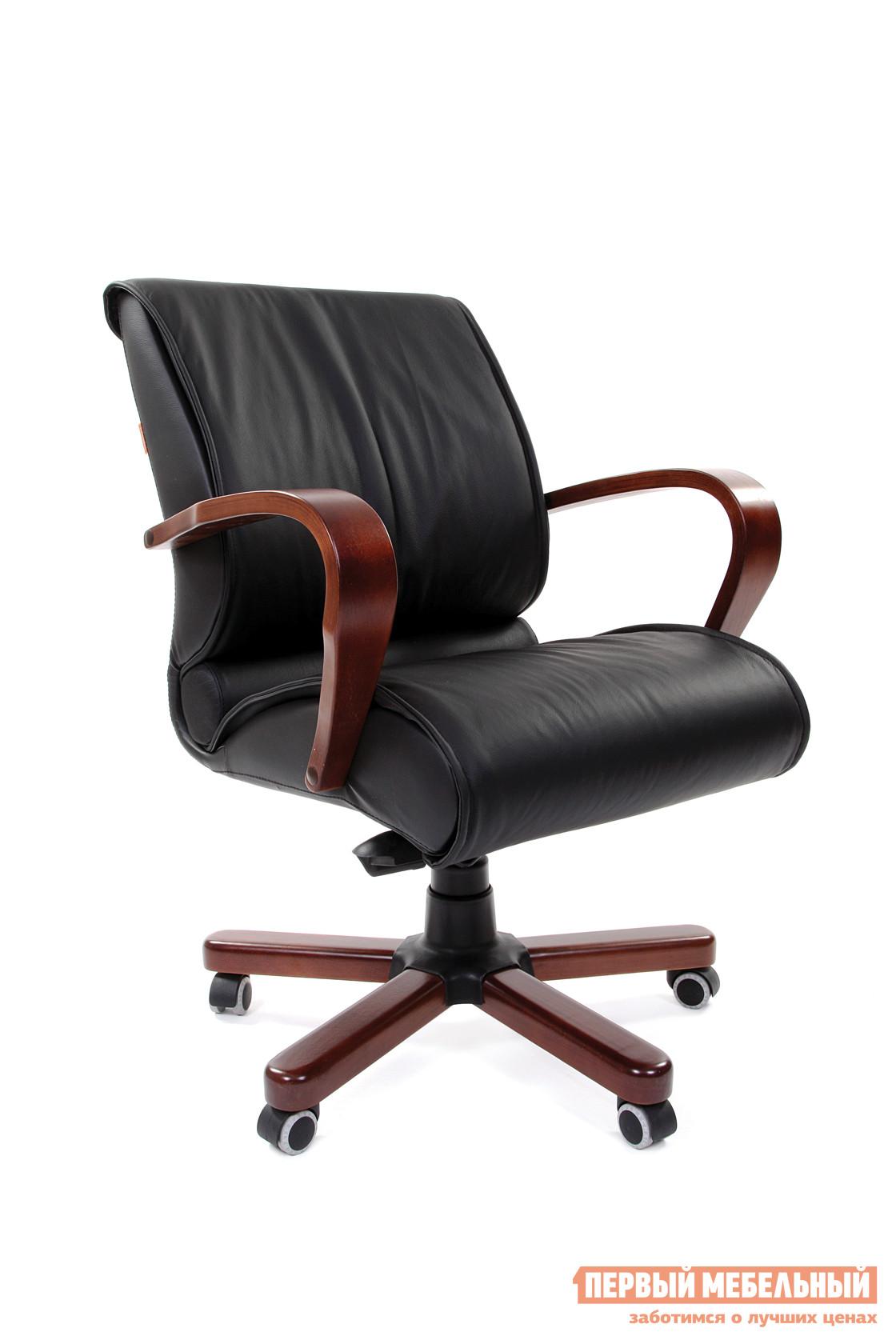 Кожаное кресло руководителя Тайпит CHAIRMAN 444 WD