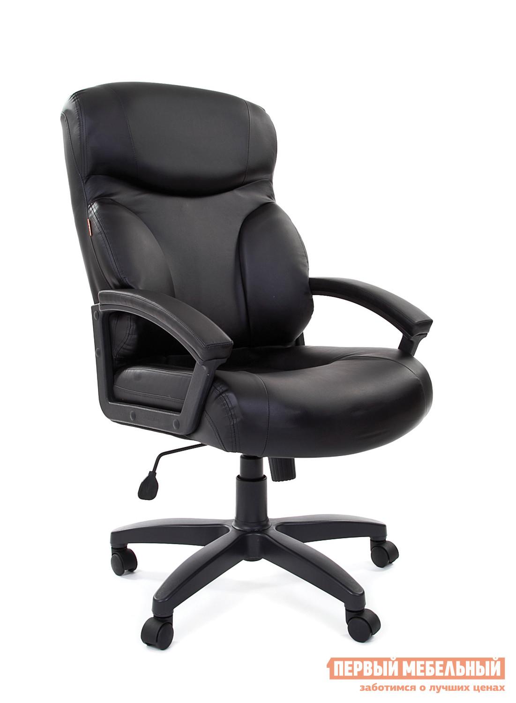Кресло руководителя Chairman CHAIRMAN 435 LT Экопремиум черная матовая