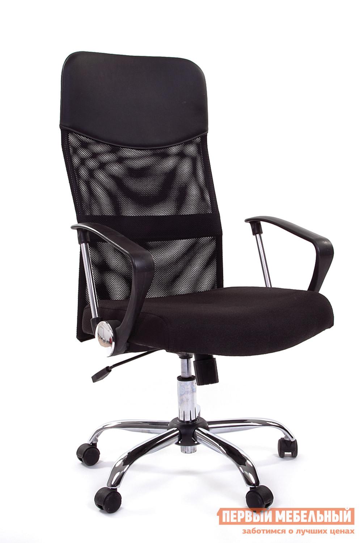 Кресло руководителя  CH 610 15-21 черный