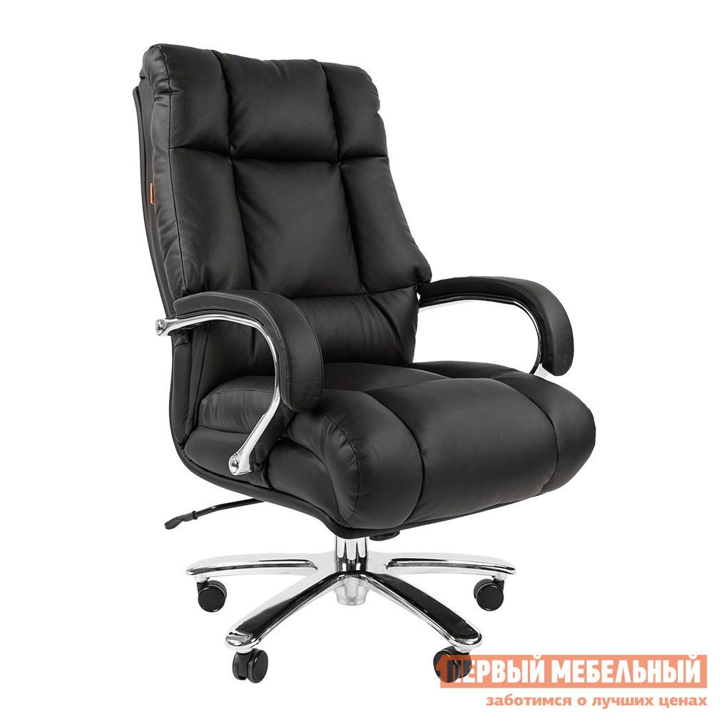 Кресло руководителя  CHAIRMAN 405 кожа Кожа черная