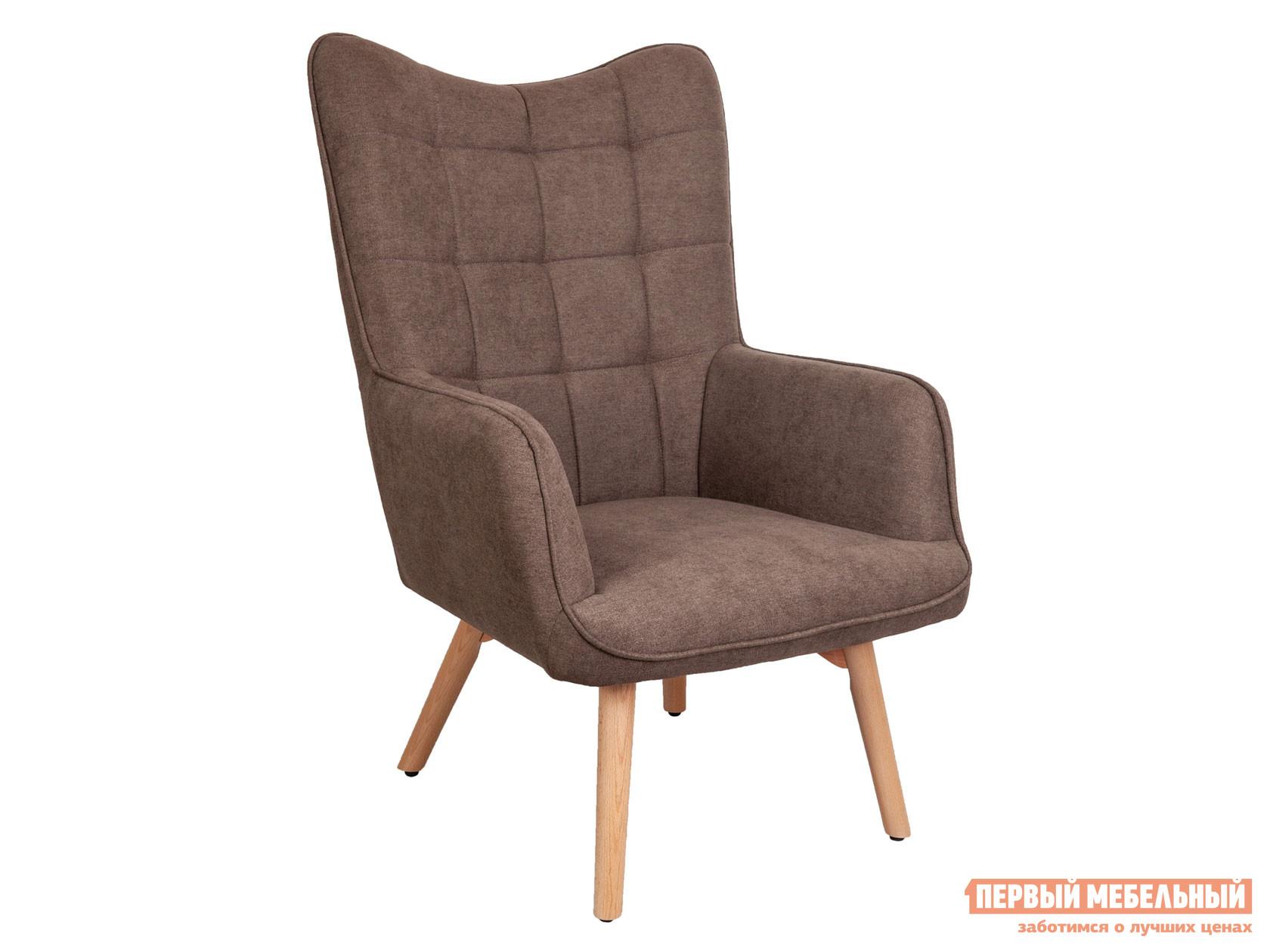 Кресло  BOGEMA Бежевый, рогожка / Бук, дерево Sedia 124879
