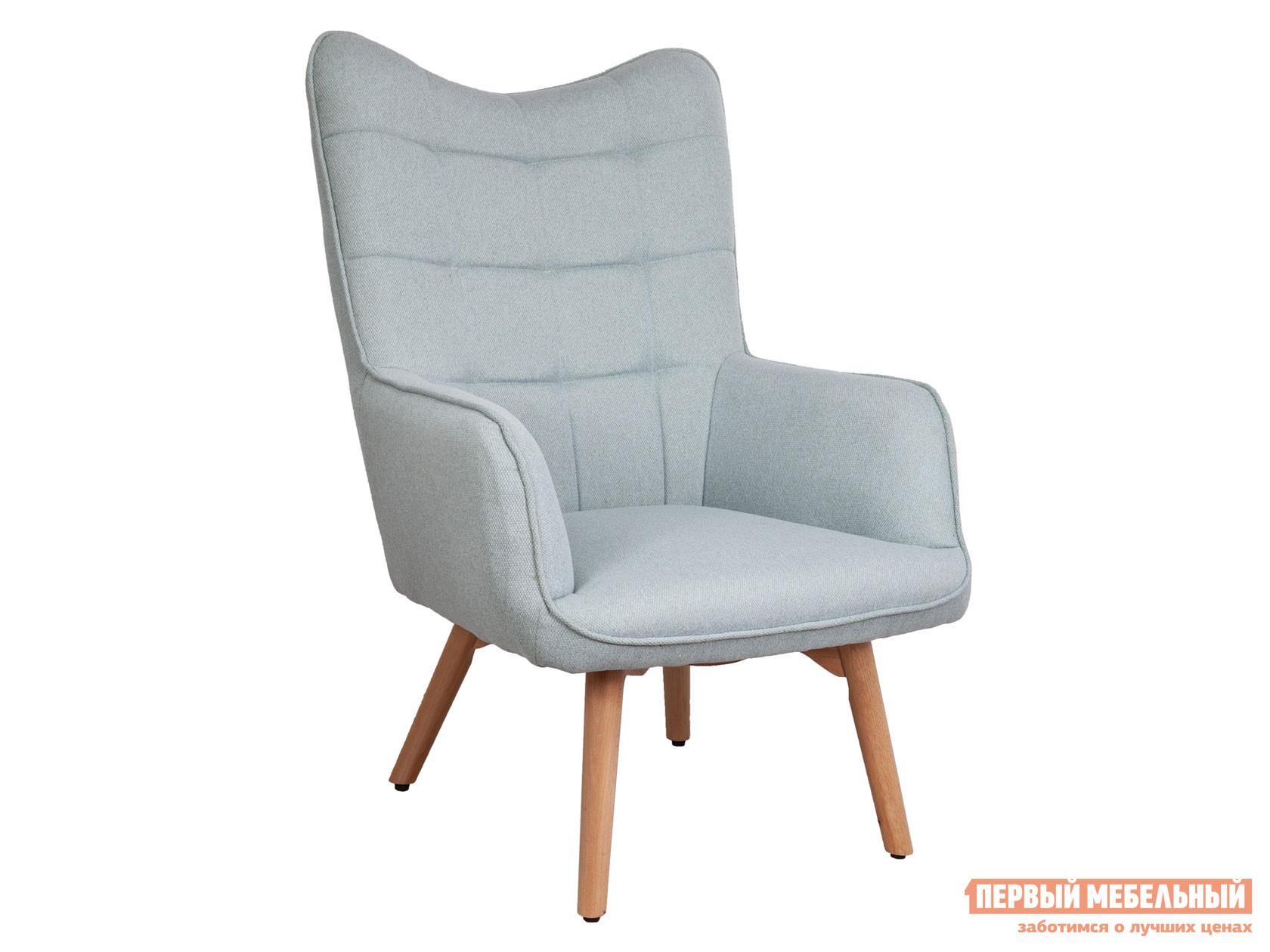 Кресло  BOGEMA Мятный, рогожка / Бук, дерево Sedia 124877