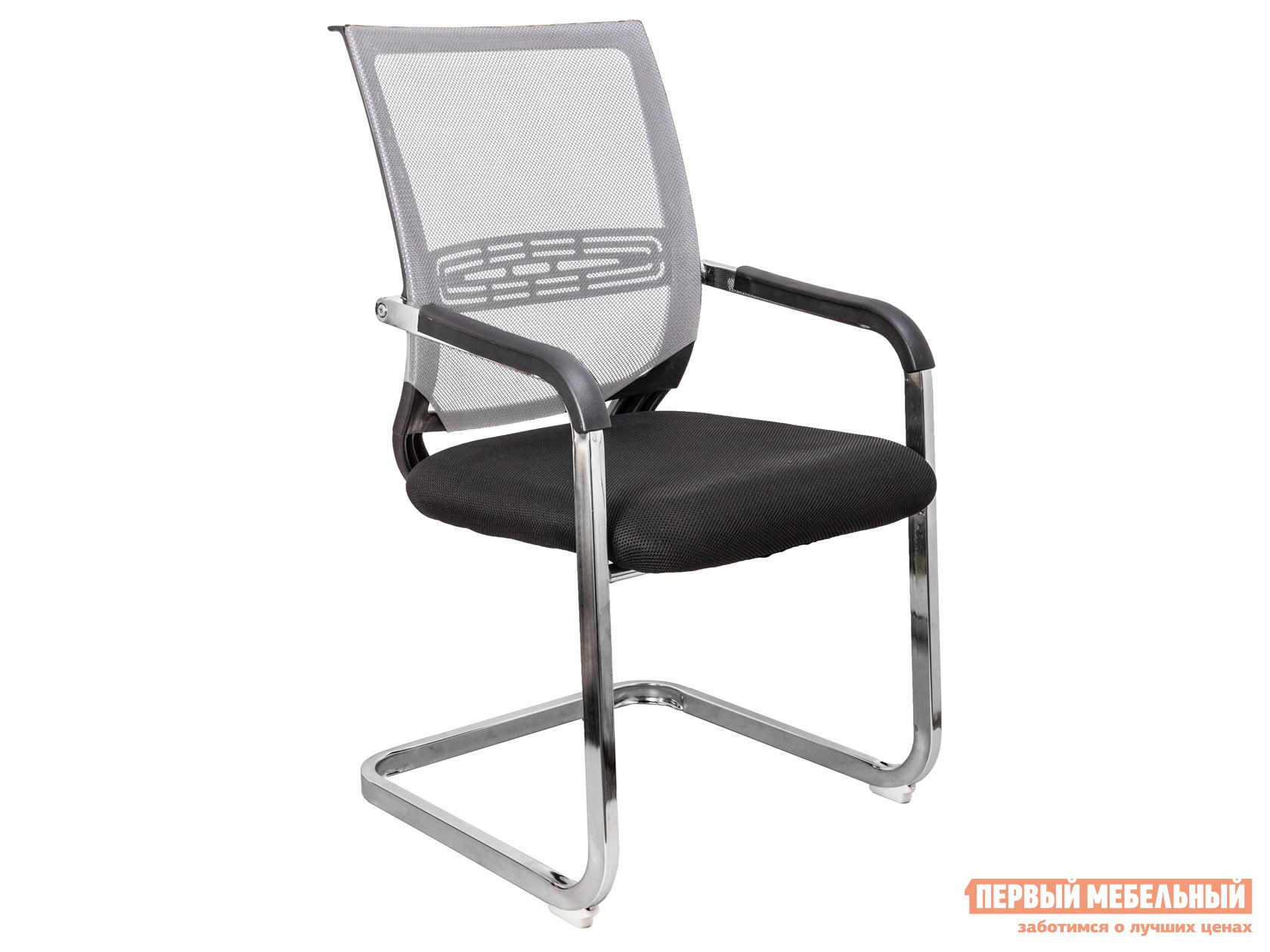 Офисный стул  Стул LUCAS Серый, сетка — Стул LUCAS Серый, сетка