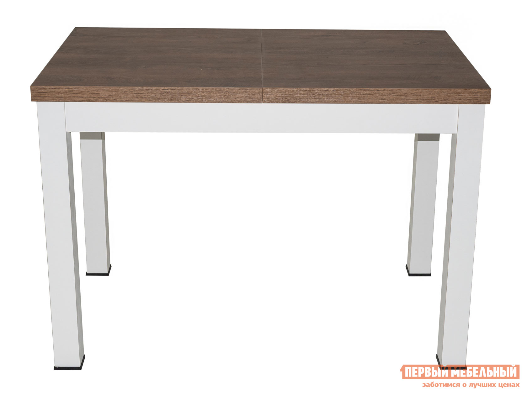 Кухонный стол  Стол раздвижной ONE (СОО), 1100(1490)*670*760/ONE 2, 1380(1930)*850*760 Белый / Дуб Канзас, Малый