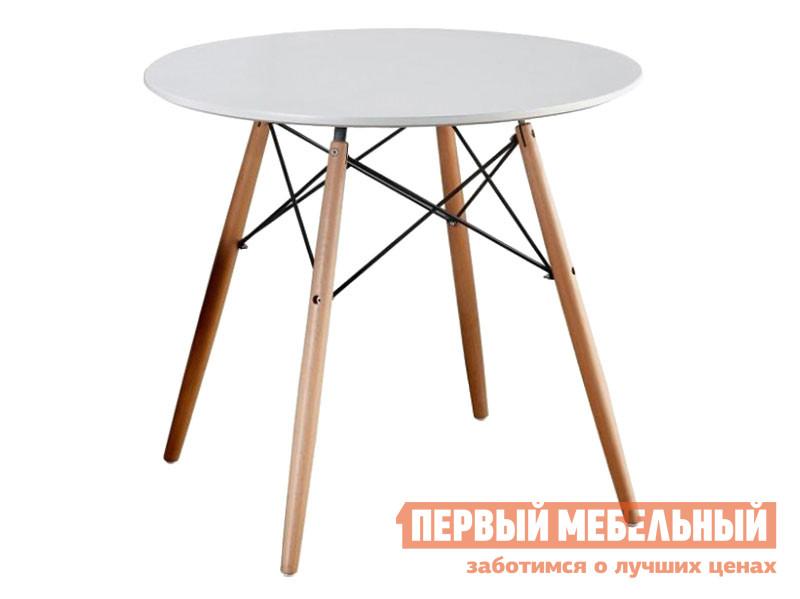 Кухонный стол  LEILA, 900*750 Бук / Белый Sedia 118337