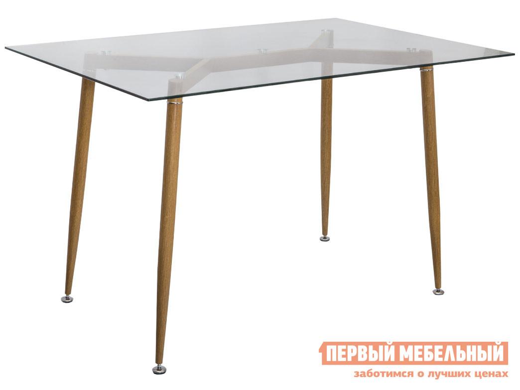 Кухонный стол  Стол GERDA, 120*70*75 Стекло / Металл, окрашенный