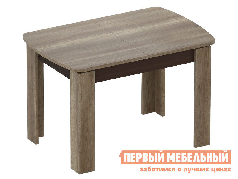 Кухонный стол  Стол раздвижной ARRIS 2, 1180*(1570)*780*760 Дуб Каньон
