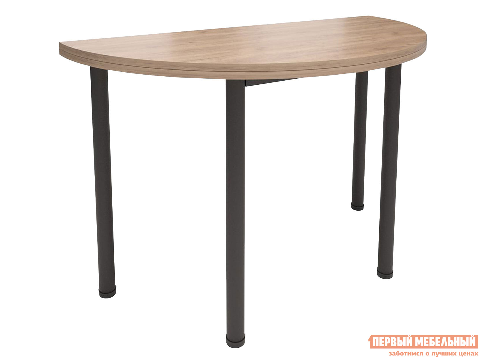 Кухонный стол  Стол-консоль Далис 1 Дуб Табачный Крафт / Черный муар MillWood 123231