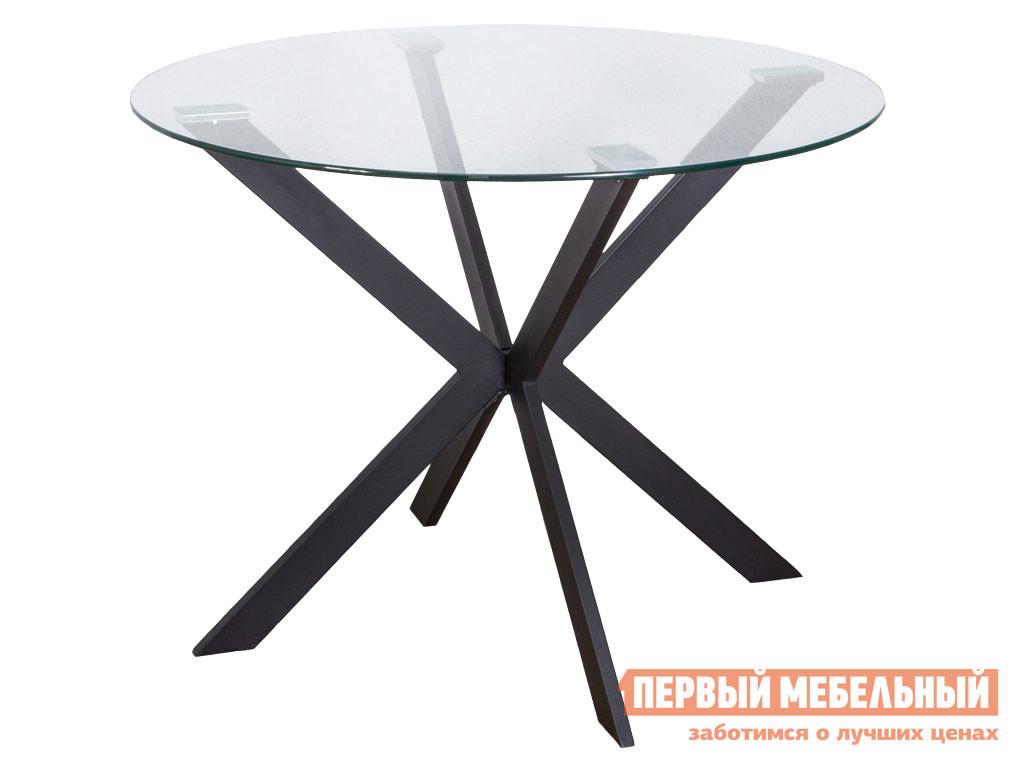 Кухонный стол  DALLAS, 100*75 Черный, металл / Стекло Sedia 118283
