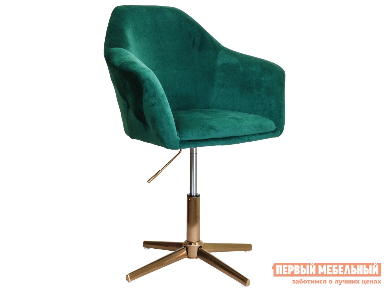 Офисное кресло  Кресло поворотное DUBAI Зеленый, велюр