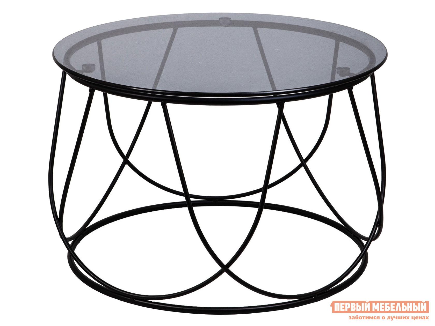Журнальный столик  Стол BUBBLE Тонированное стекло / Черный, 400 х 600 мм Sedia 123069