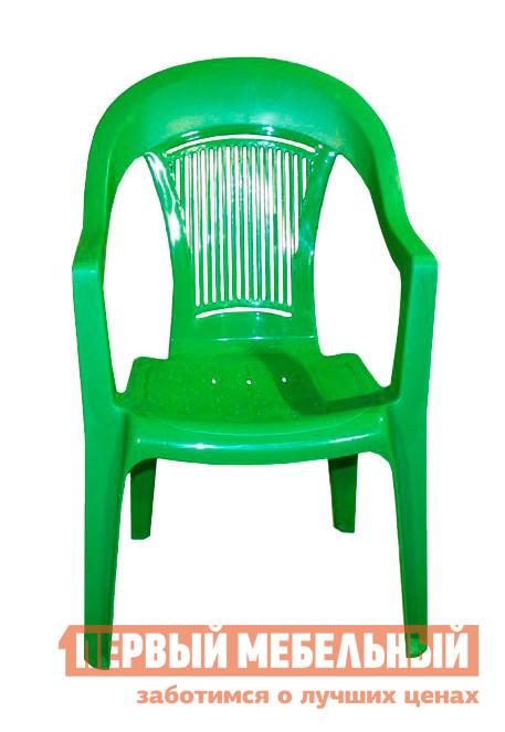 Пластиковый стул ЭЛП Кресло «Венеция» ЗеленыйПластиковые стулья<br>Габаритные размеры ВхШхГ 910x550x410 мм. Пластиковый стул тоже может быть элегантным, и кресло «Венеция» тому доказательство.  Покатая спинка, аккуратные подлокотники и удобное сиденье делают модель изящной и гармоничной деталью для обустройства зоны отдыха на веранде, в саду вашего загородного участка или на лоджии квартиры.  Глубокое сиденье и перфорированная спинка, пропускающая воздух, обеспечат комфортный и приятный отдых в таком кресле. Стул выполняется из пластика, легкого, но прочного материала, устойчивого к погодным влияниям и перепадам температур.  Модель весит всего 2,3 кг, вы с легкостью сможете вынести кресло на улицу и, устроившись под любимой яблоней, насладиться свежим воздухом и захватывающей книгой.  Размеры стула составляют 910 х 550 х 410 мм.  Высота от пола до сиденья — 445 мм, ширина и глубина сиденья — 440 мм.  Кресло выдерживает до 120 кг. В интернет-магазине «Купистол» вы можете заказать кресло «Венеция», а также выбрать пластиковый стол и другие аксессуары для долгожданного летнего отдыха.<br><br>Цвет: Зеленый<br>Высота мм: 910<br>Ширина мм: 550<br>Глубина мм: 410<br>Кол-во упаковок: 1<br>Форма поставки: В собранном виде<br>Срок гарантии: 1 год<br>С подлокотниками: Да