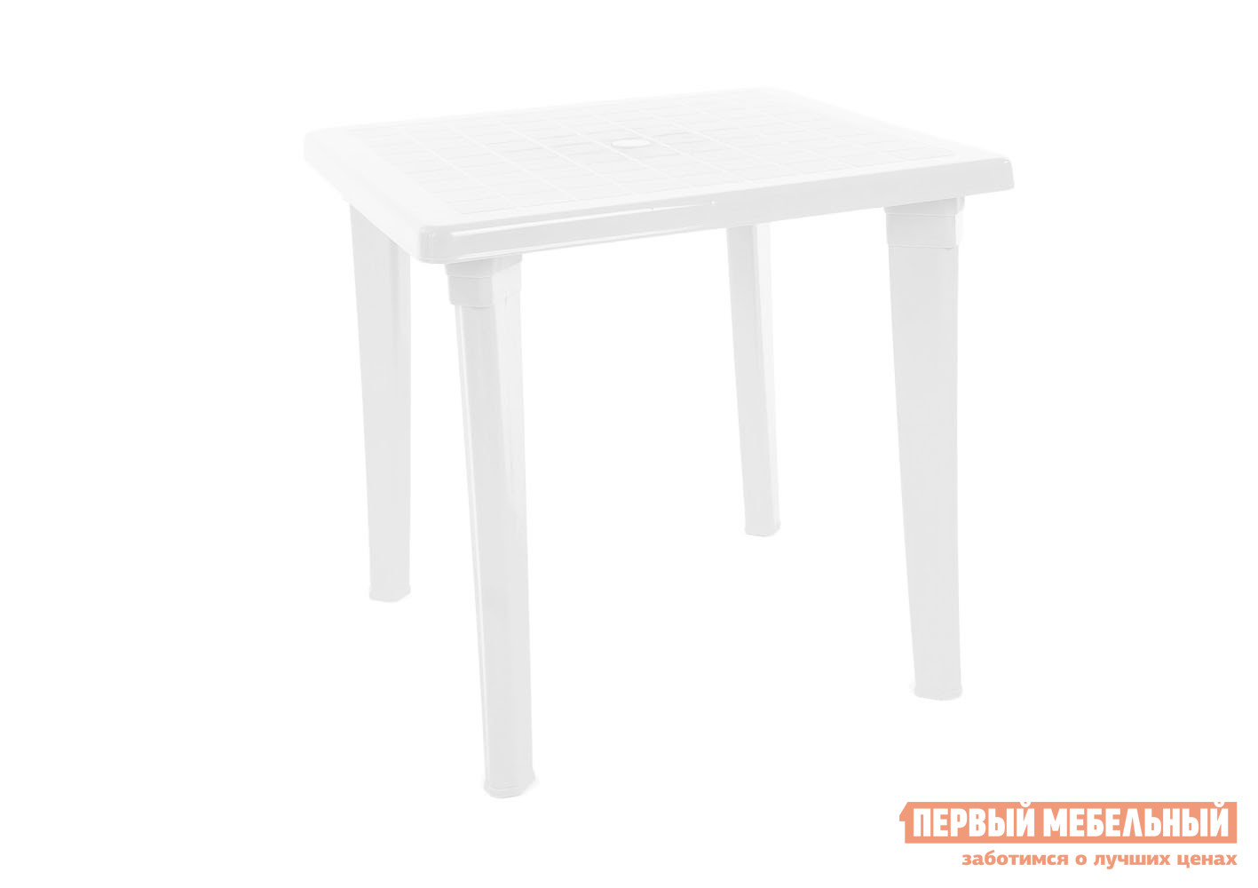 Пластиковый стол ЭЛП Стол квадратный Белый