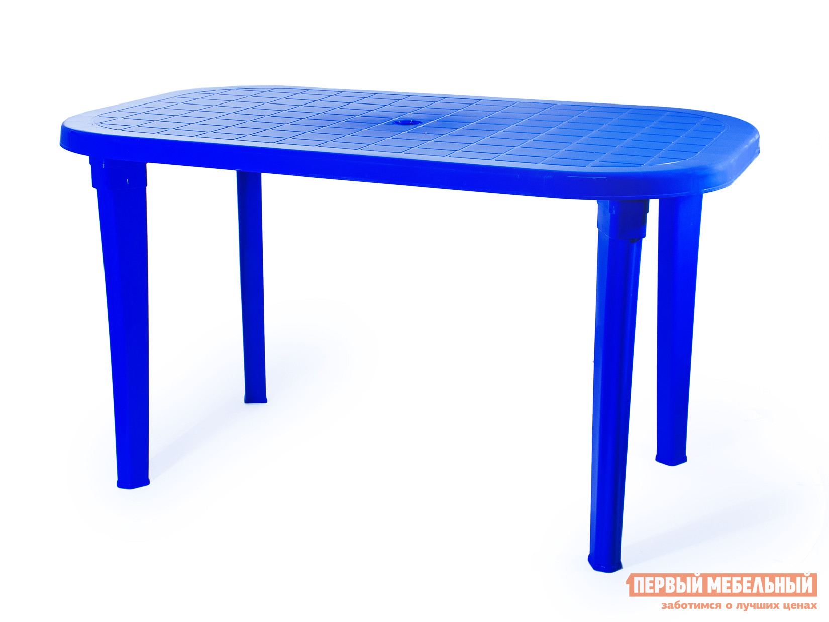 Пластиковый стол ЭЛП Стол овальный СинийПластиковые столы<br>Габаритные размеры ВхШхГ 740x1380x800 мм. Пластиковый Стол овальный для семейных посиделок на даче, на веранде или для обустройства уютного кафе для вечерних встреч с друзьями.  Столешница имеет негладкую поверхность, что предотвратит случайное падение посуды и предметов.  За столом будет приятно собраться с близкими и обсудить последние события, поделиться новостями, сыграть в любимую в семье настольную игру. Стол имеет размеры 740 х 1380 х 800 мм и с комфортом уместит шесть человек.  Его легкий вес, всего 7,9 кг, позволяет быстро переместить стол в нужное место.  Изделие выполняется из пластика — прочного и неприхотливого материала, устойчивого к температурным колебаниям и влажности.  Стол поставляется в разобранном виде.  Чтобы его собрать, нужно всего лишь вкрутить ножки в столешницу.  Это занимает считанные минуты.<br><br>Цвет: Синий<br>Высота мм: 740<br>Ширина мм: 1380<br>Глубина мм: 800<br>Кол-во упаковок: 1<br>Форма поставки: В разобранном виде<br>Срок гарантии: 1 год<br>Форма: Овальные<br>Форма: Прямоугольные<br>Размер: Большие