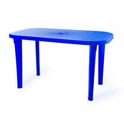 Пластиковый стол ЭЛП Стол овальный Синий