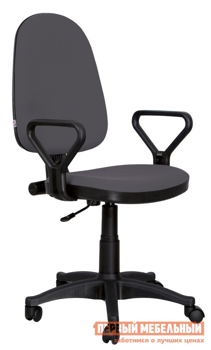 Офисное кресло Новый стиль Prestige gtpPN Ткань серая С-38Офисные кресла<br>Габаритные размеры ВхШхГ 1050x600x мм. Самая популярная модель в своем классе.  Использование данной модели в тысячах офисов доказало ее долговечность и практичность.<br><br>Цвет: Ткань серая С-38<br>Цвет: Серый<br>Высота мм: 1050<br>Ширина мм: 600<br>Кол-во упаковок: 1<br>Форма поставки: В разобранном виде<br>Срок гарантии: 12 месяцев<br>Тип: До 80 кг, До 100 кг<br>Материал: из ткани<br>Особенности: С подлокотниками, С пластиковой крестовиной