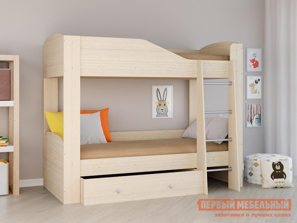 Матрас детский РВ Мебель Двухъярусная кровать Астра-2 Дуб молочный Дуб Молочный от Купистол