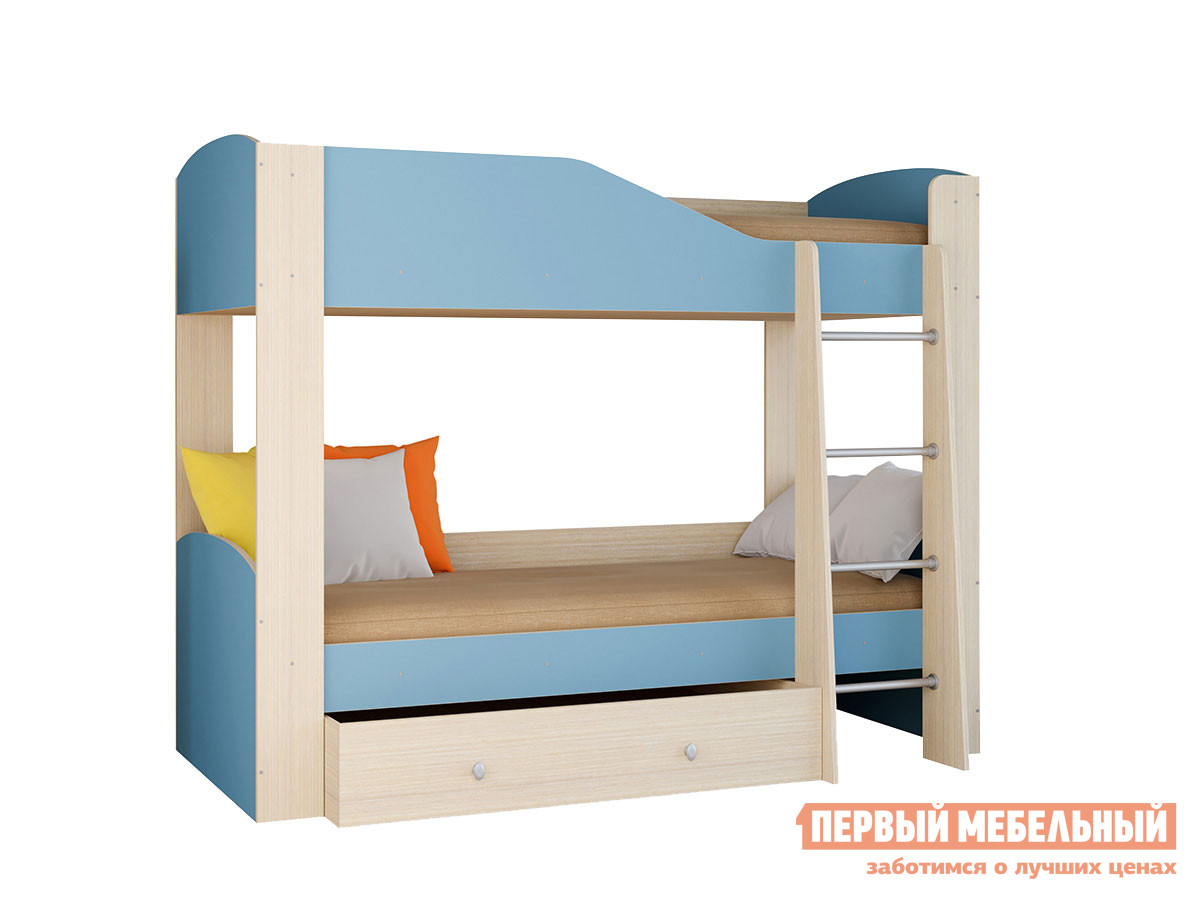 Двухъярусная кровать РВ Мебель Двухъярусная кровать Астра-2
