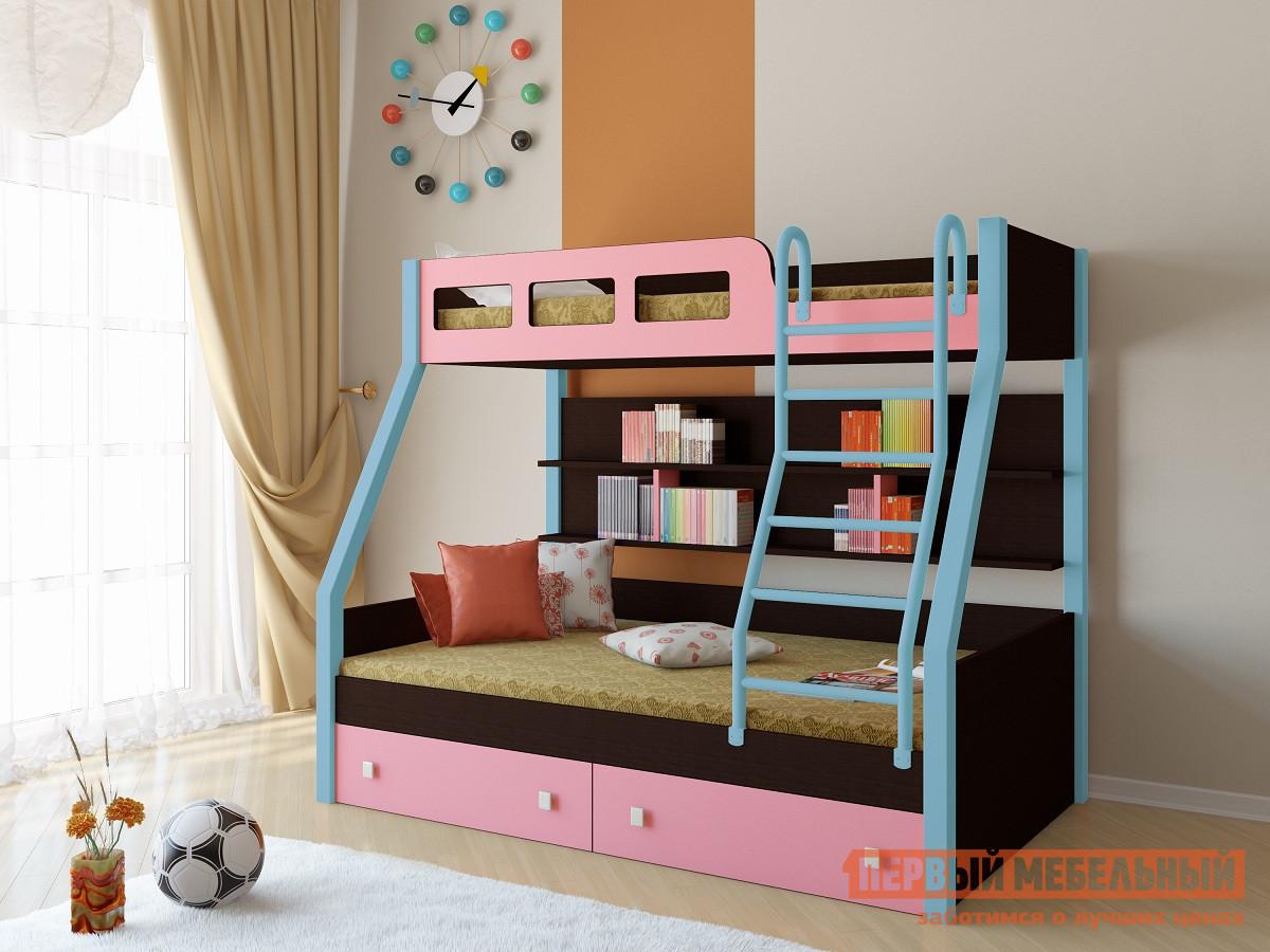 Двухъярусная кровать РВ Мебель Рио Венге кровать двухъярусная олимп мебель адель 3