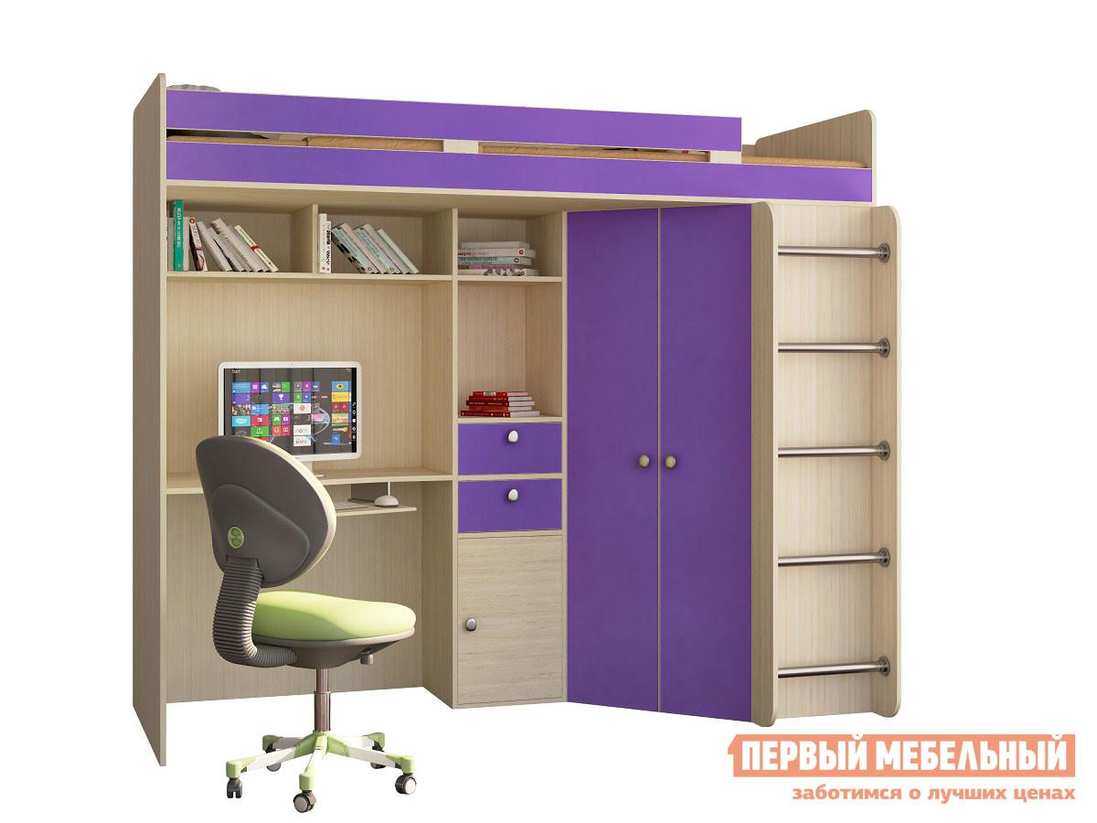 Кровать-чердак для детей от 3 лет РВ Мебель Астра-1