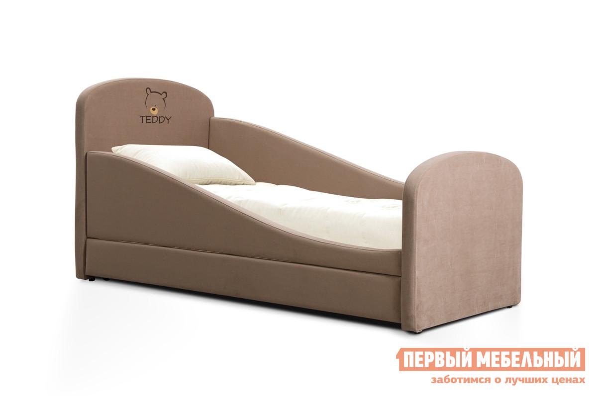 Фото Детская кровать Мирлачев Тедди 1600*700 Банни 12 / Тедди, С матрасом, Правый. Купить с доставкой
