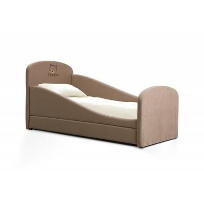 Детская кровать Мирлачев Тедди 1600*700 Банни 12 / Тедди, Без матраса, Правый