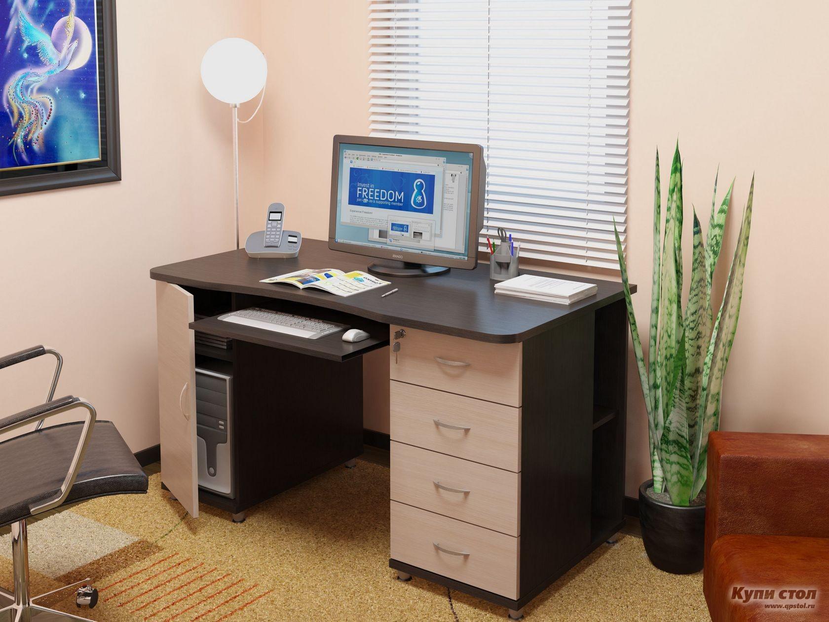 Компьютерный стол николао кс 20-39 васко купить в москве и с.